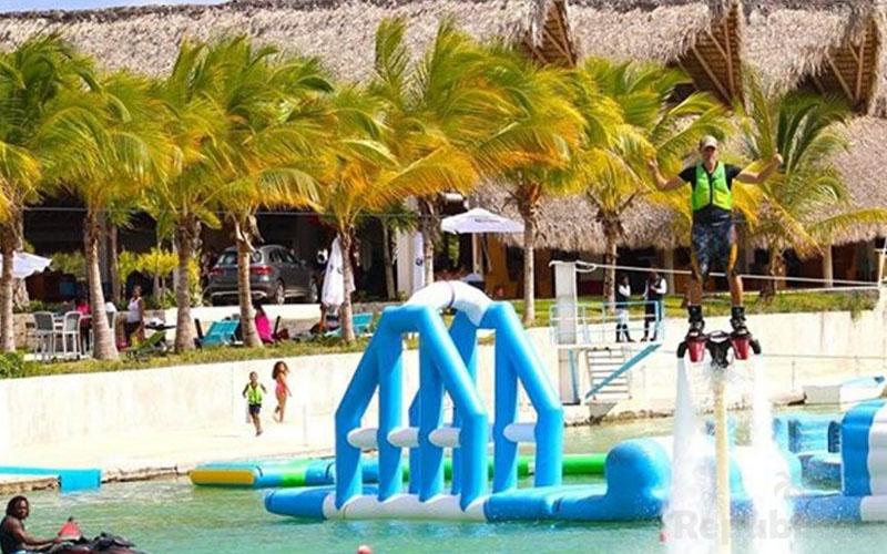 Водный парк в Доминикане