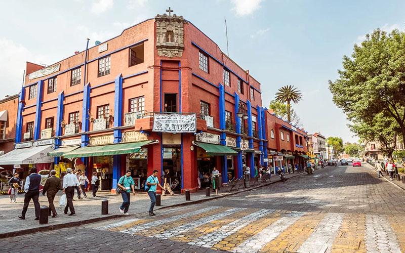 Историческая часть Мехико