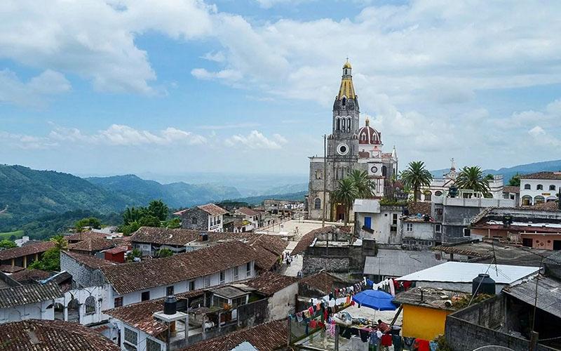 Собор Пречистой Девы Спасительницы в Мексике