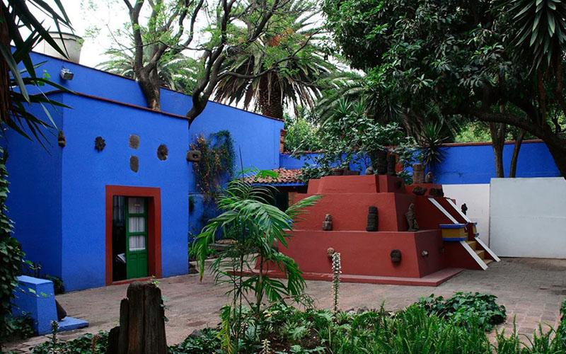 Дом музей Фриды Кало в Мексике