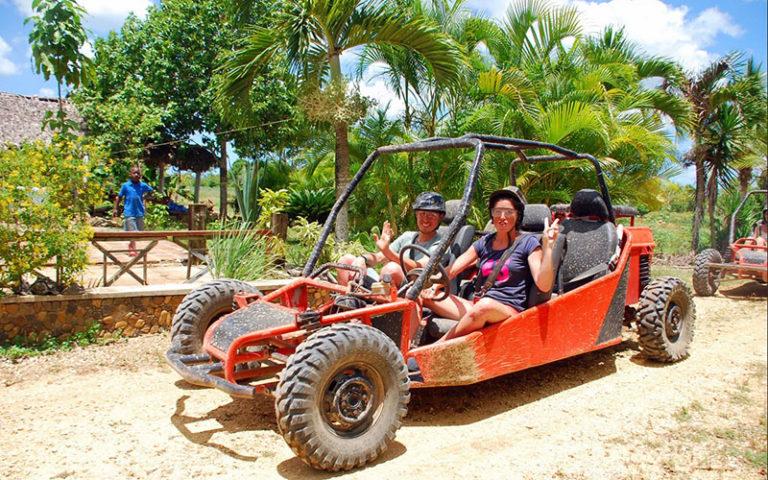 Сафари на квадроциклах в Доминикане