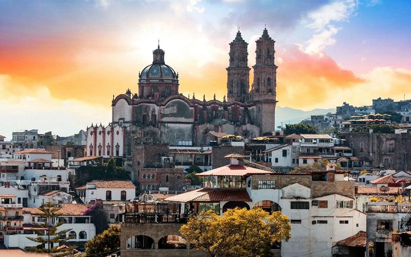 Церковь Санта Приска в Мексике