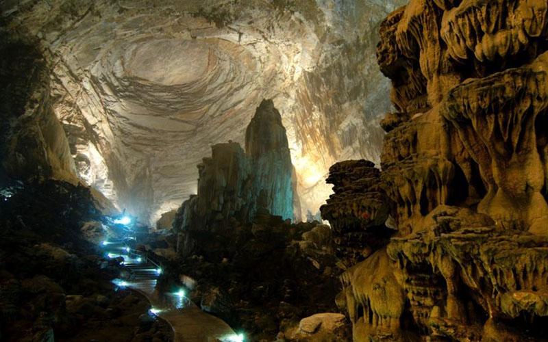 пещеры Какауамильпа в Мексике