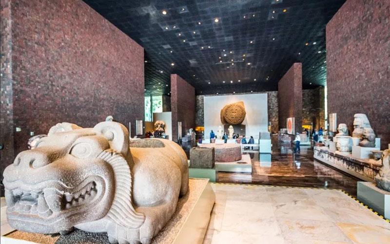 Национальный Музей Антропологии Мексики