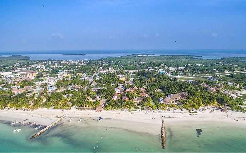 Остров Холбош в Мексике
