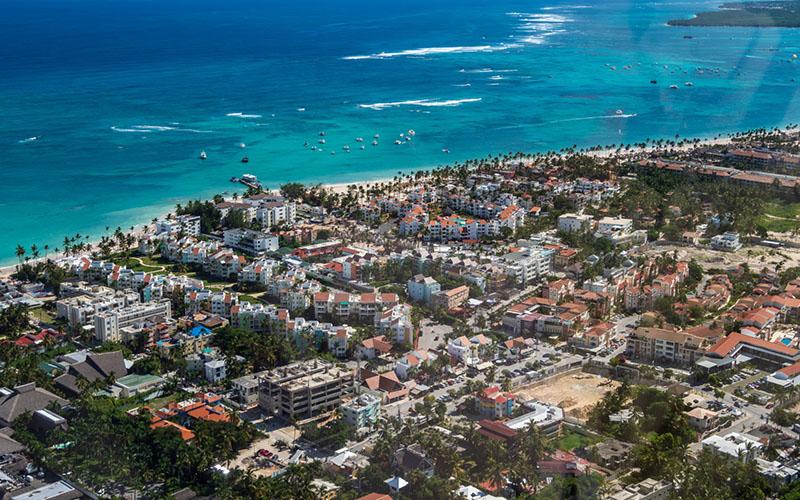 Полет над Доминиканой