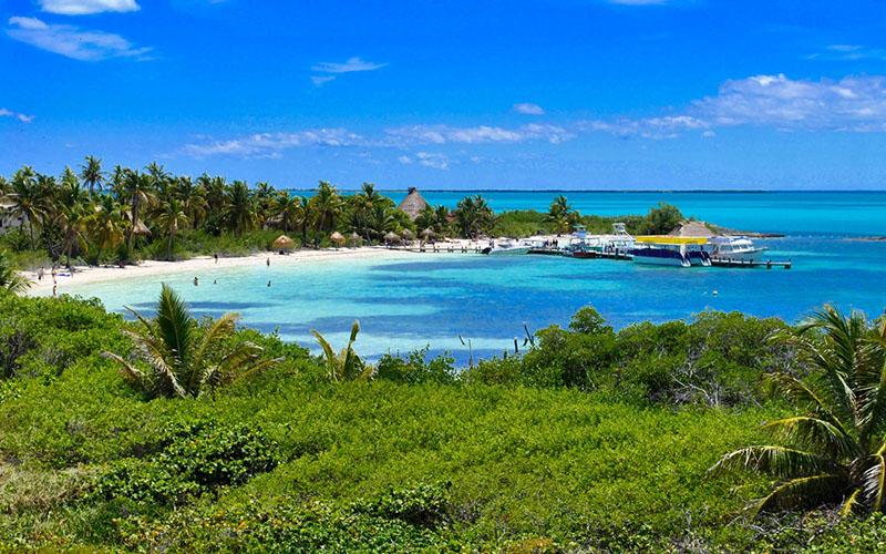 Райские острова в Мексике