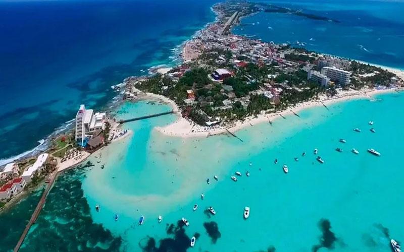 Острова женщин в Мексике (Isla Mujeres)