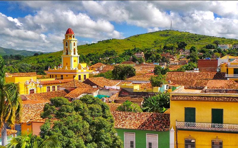 Три города центральной Кубы