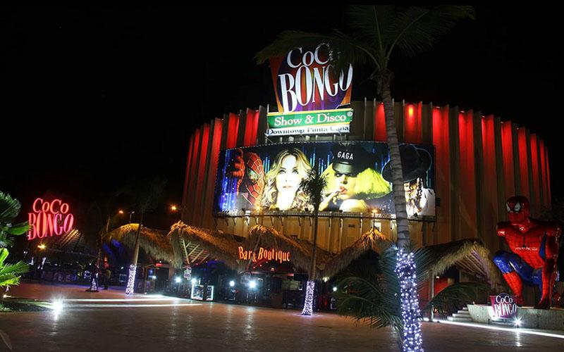 Ночной клуб Коко Бонго в Доминикане