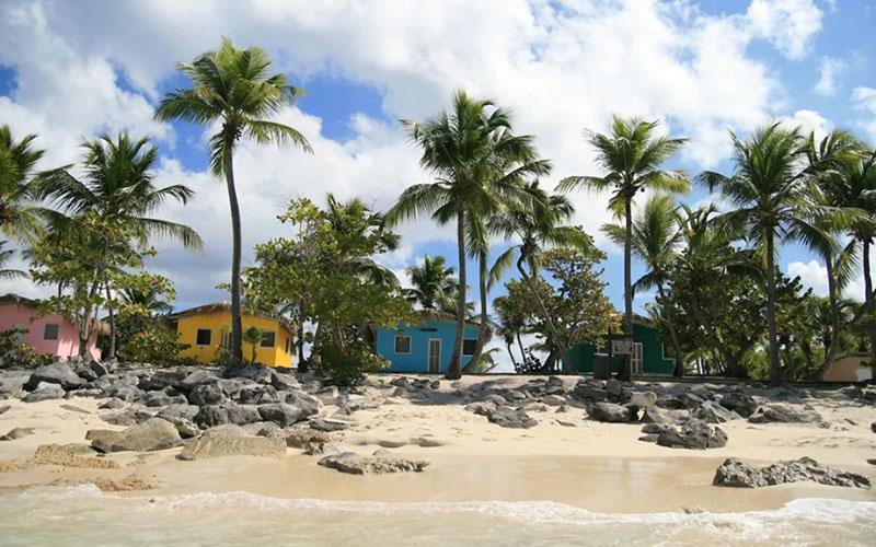 остров в Доминикане