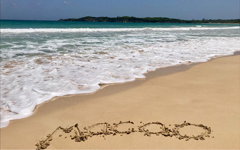 пляж Макао
