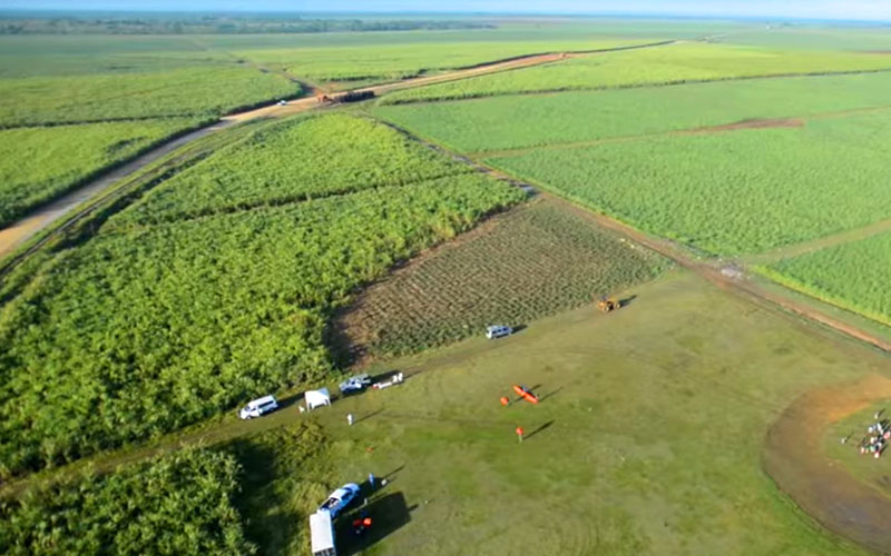 полет на воздушном шаре над Доминиканой