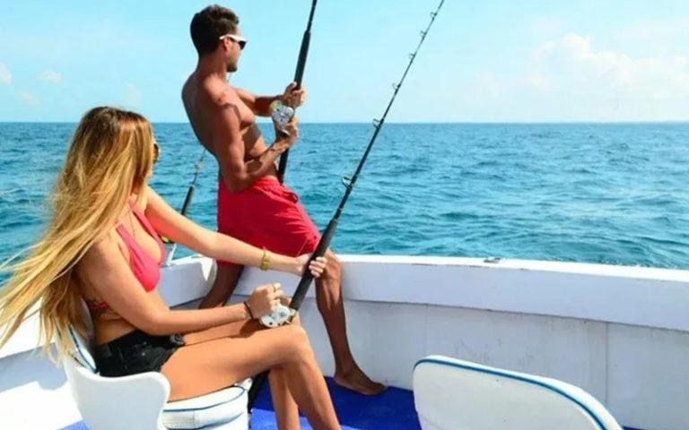 рыбалка в атлантике