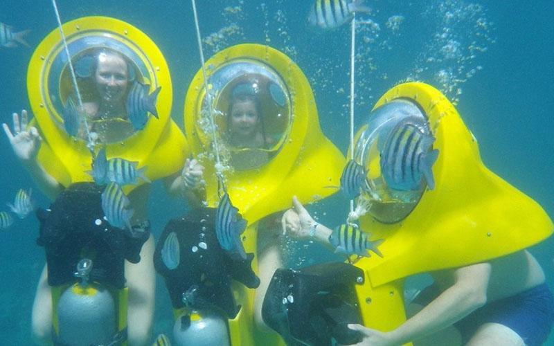 Scubadoo - подводный скутер в Доминикане