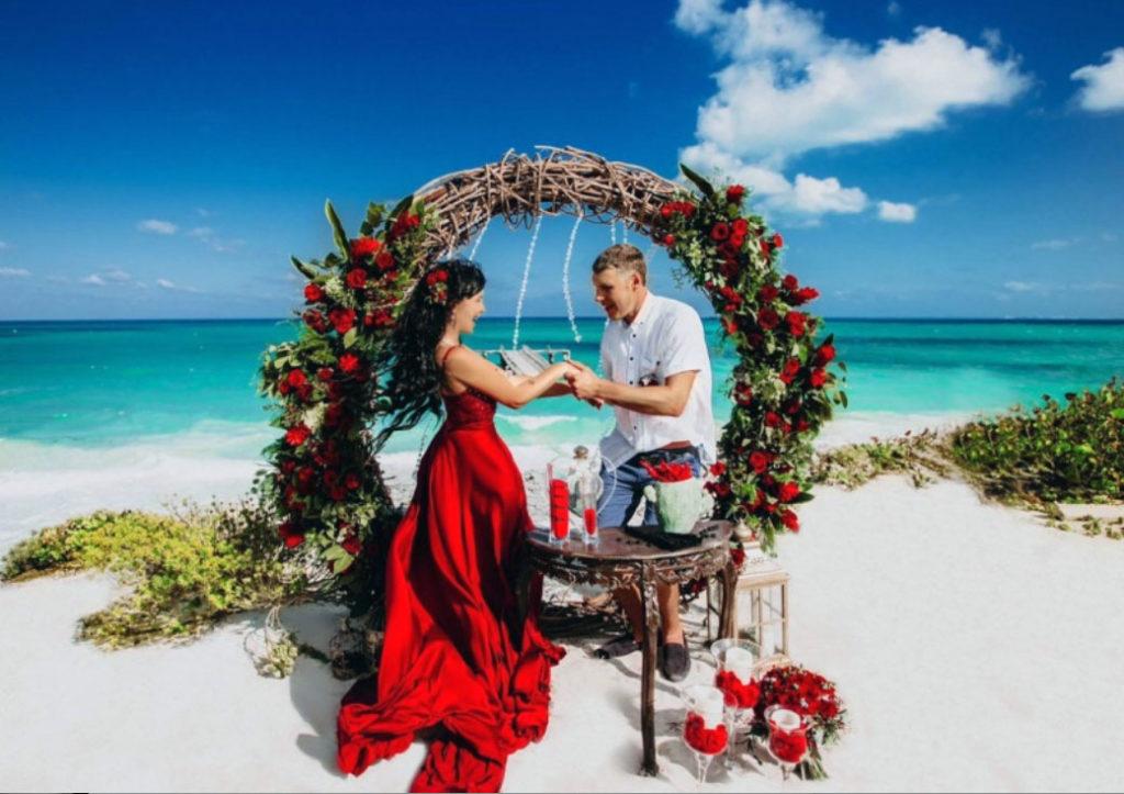 Медовый месяц в Мексике
