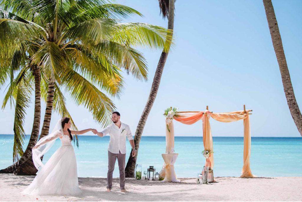 Свадьба на берегу карибского моря