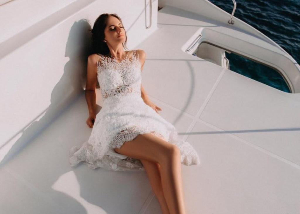 Свадьба в океане