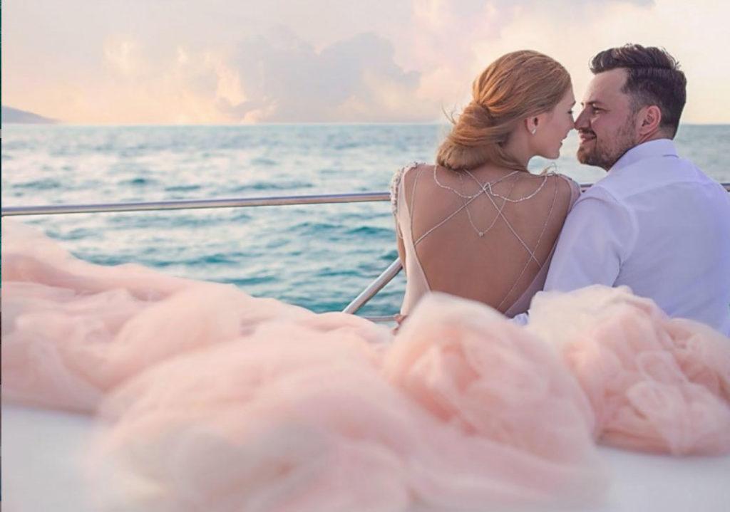 Свадьба в Карибском море