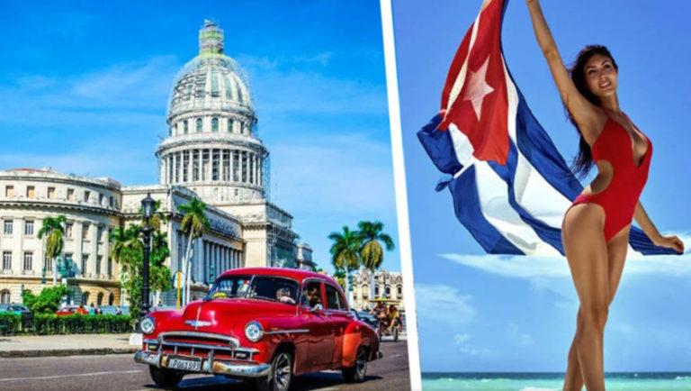 аиасообщение между Кубой и Россией