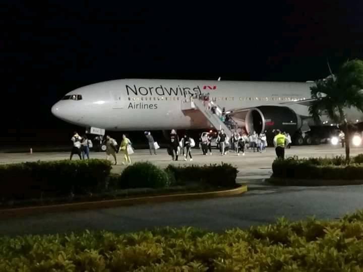 первый рейс а Кубу после пандемии